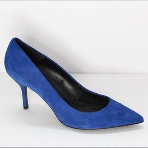 Zara Electric Blue Pumps Size 10 (fits like 9.5)